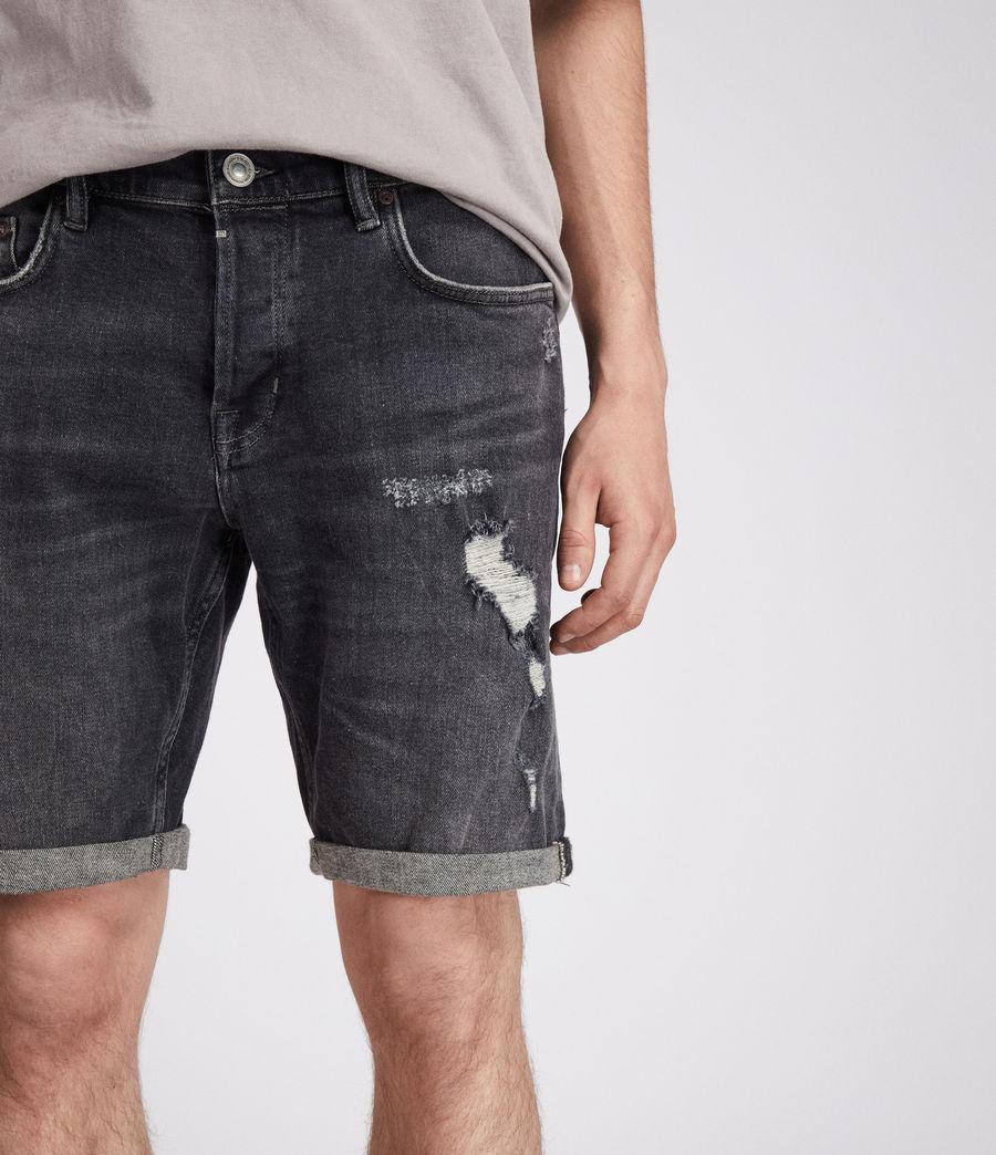 Men's Barge Shorts (washed_black) - Image 2