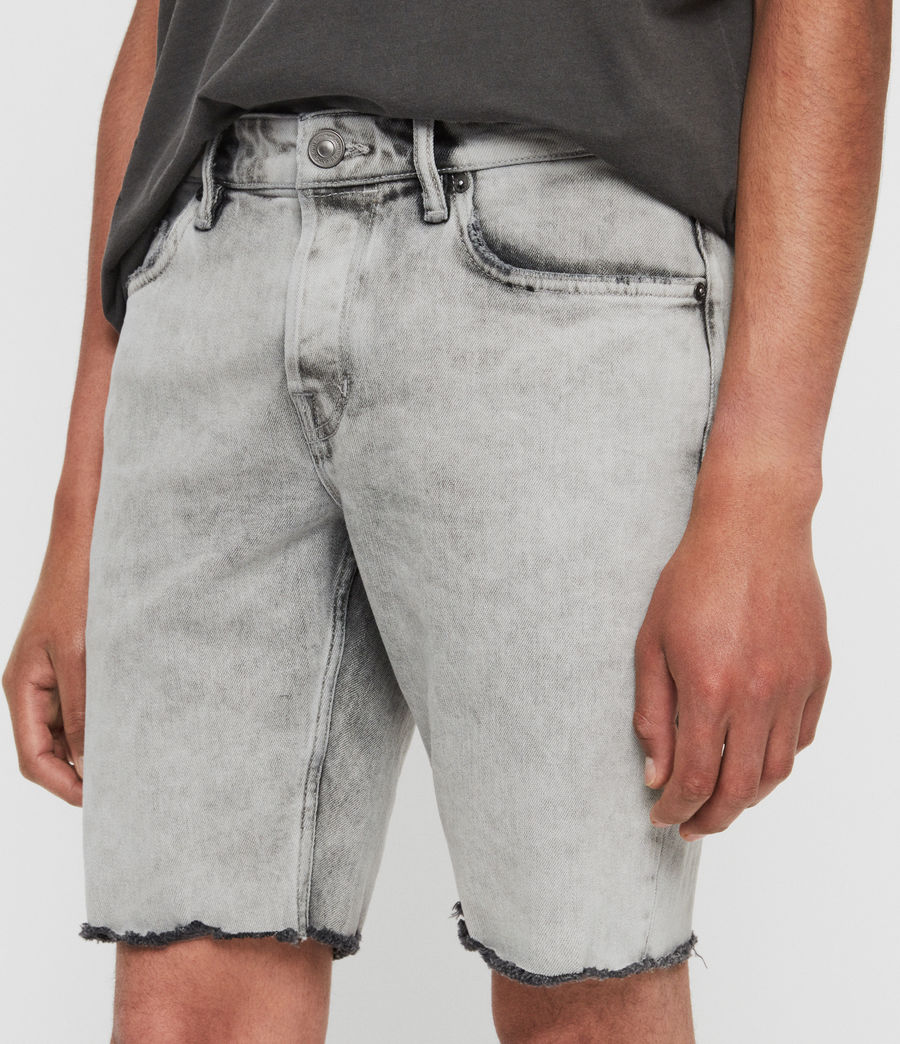 Herren Switch Jeansshorts (grey) - Image 4