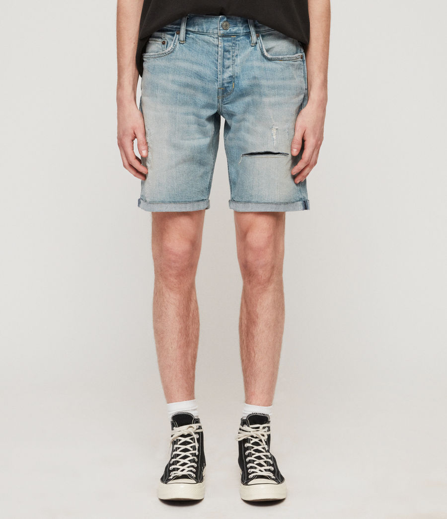 Herren Switch Jeansshorts (light_indigo_blue) - Image 1