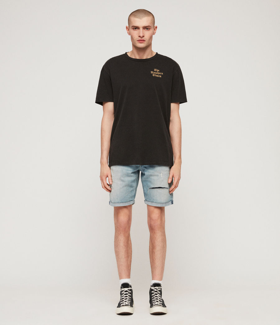 Herren Switch Jeansshorts (light_indigo_blue) - Image 3