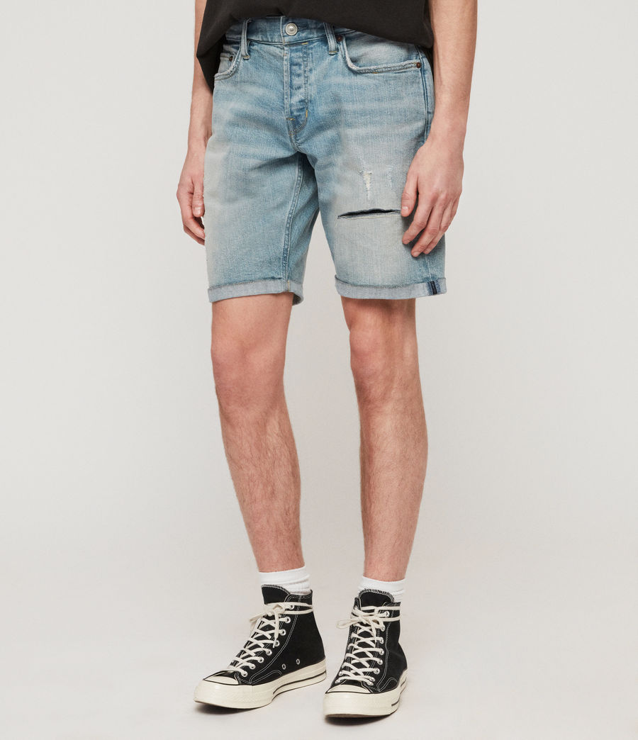 Herren Switch Jeansshorts (light_indigo_blue) - Image 4