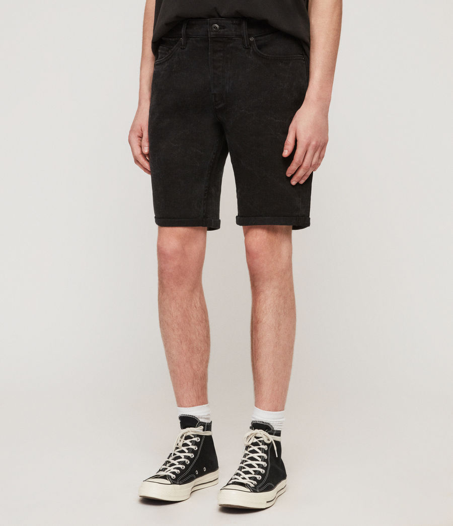 Hommes Short en Jean Switch (washed_black) - Image 2