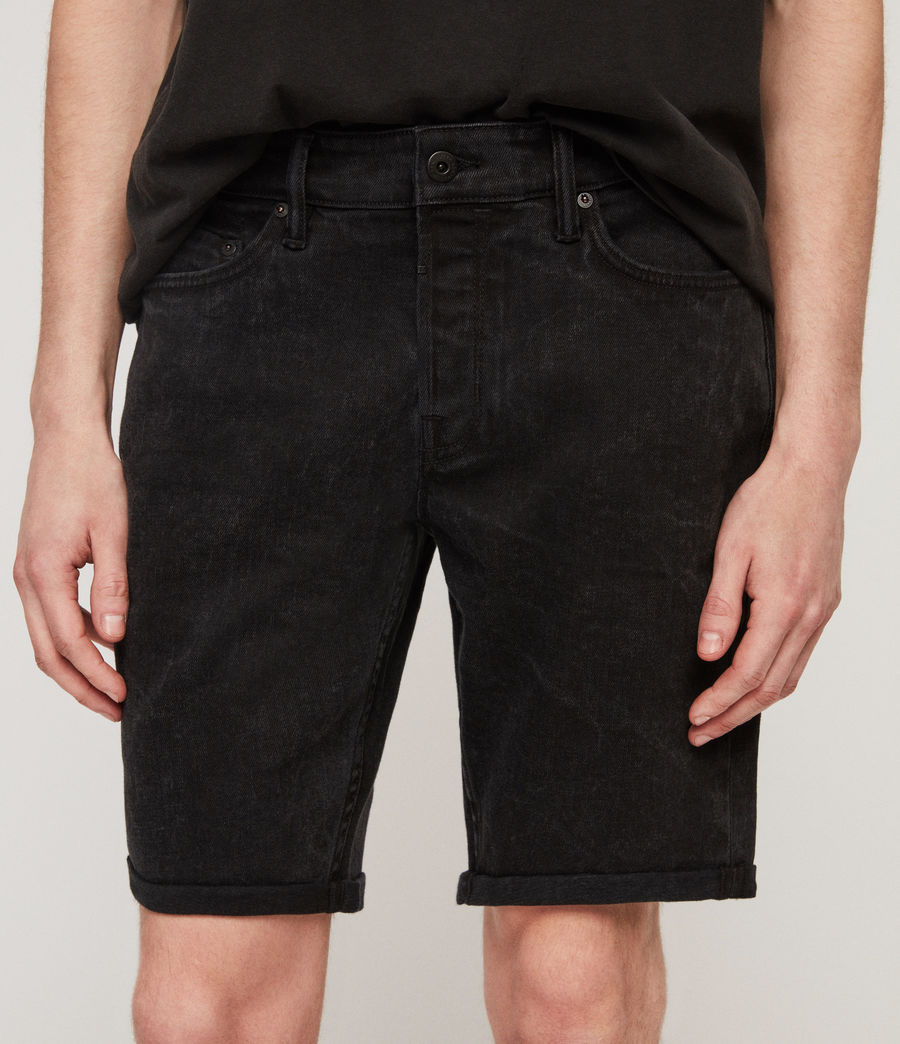 Men's Switch Denim Shorts (washed_black) - Image 5