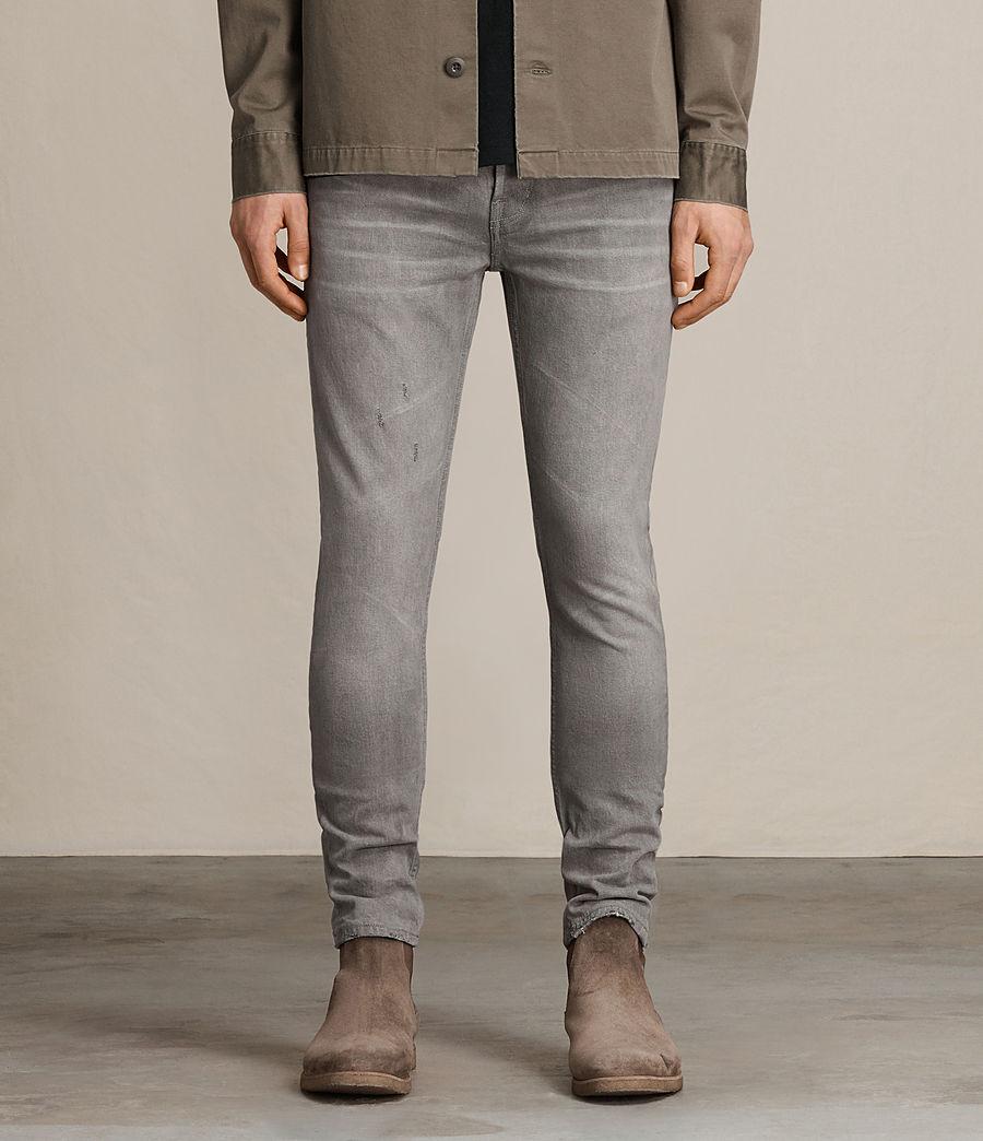 Men's Goree Cigarette Jeans (grey) - Image 1