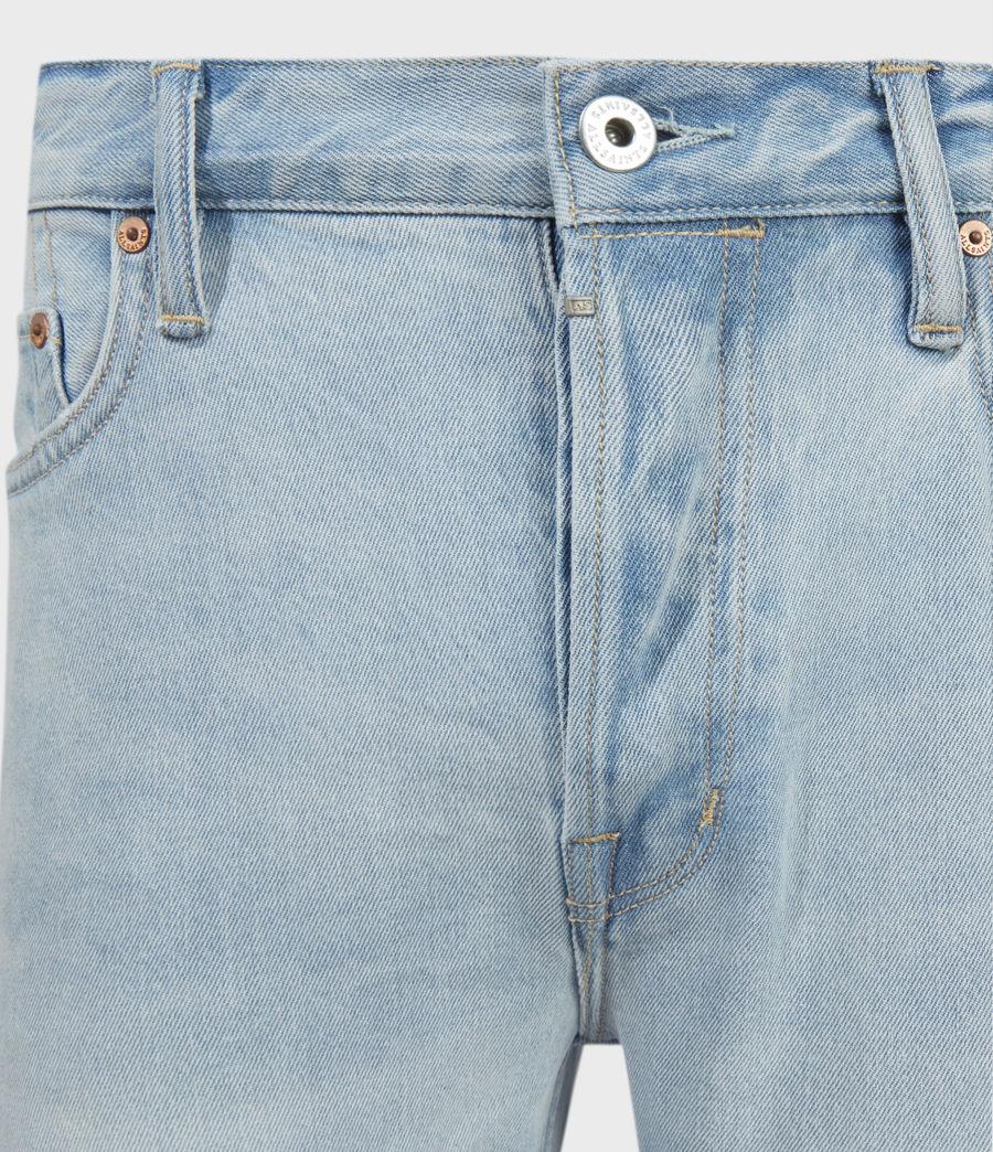 Uomo Dean Damaged Slim Jeans, Light Indigo (light_indigo) - Image 3