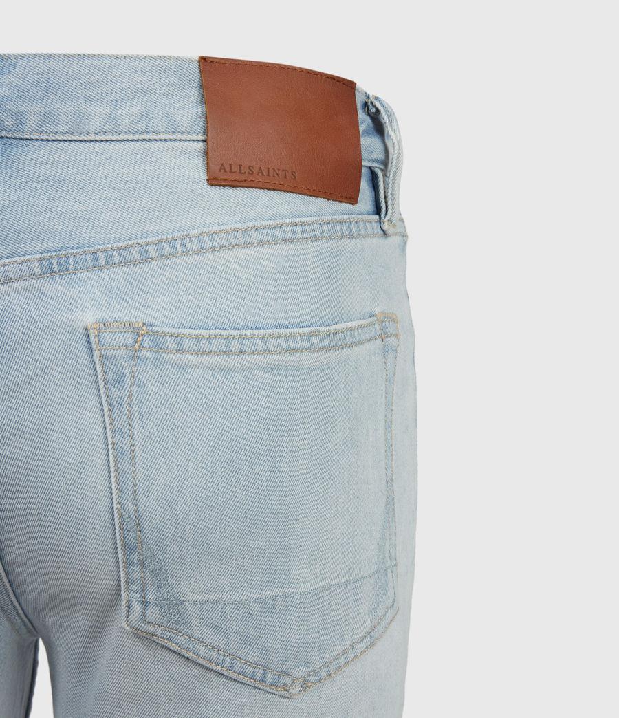Uomo Dean Damaged Slim Jeans, Light Indigo (light_indigo) - Image 4