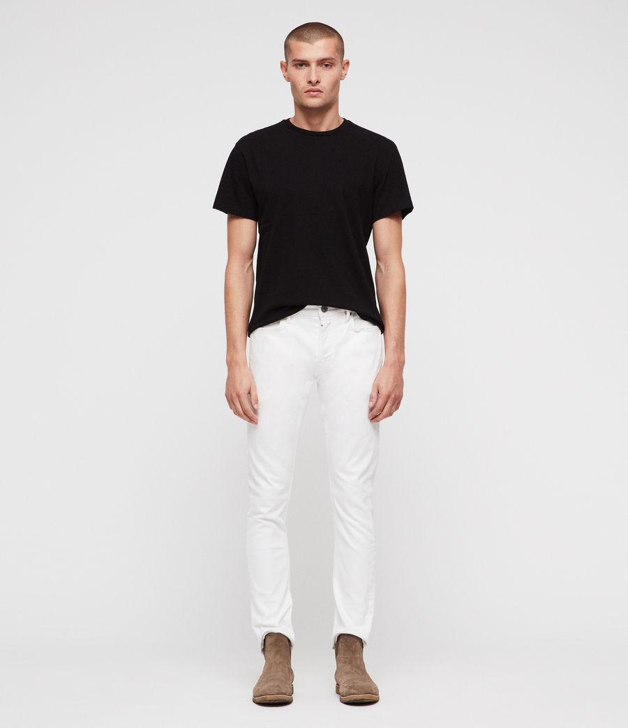 Hombre Vaqueros Rex Straight Skinny (white) - Image 1