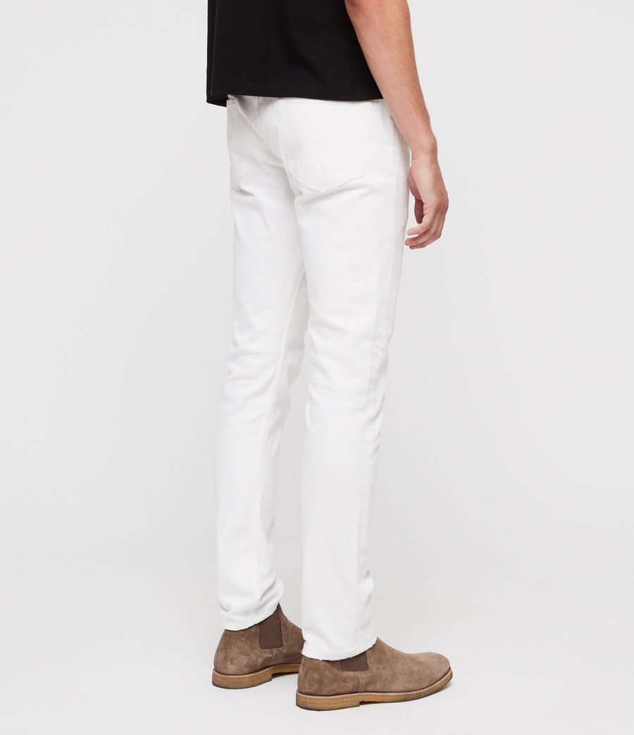 Hombre Vaqueros Rex Straight Skinny (white) - Image 4