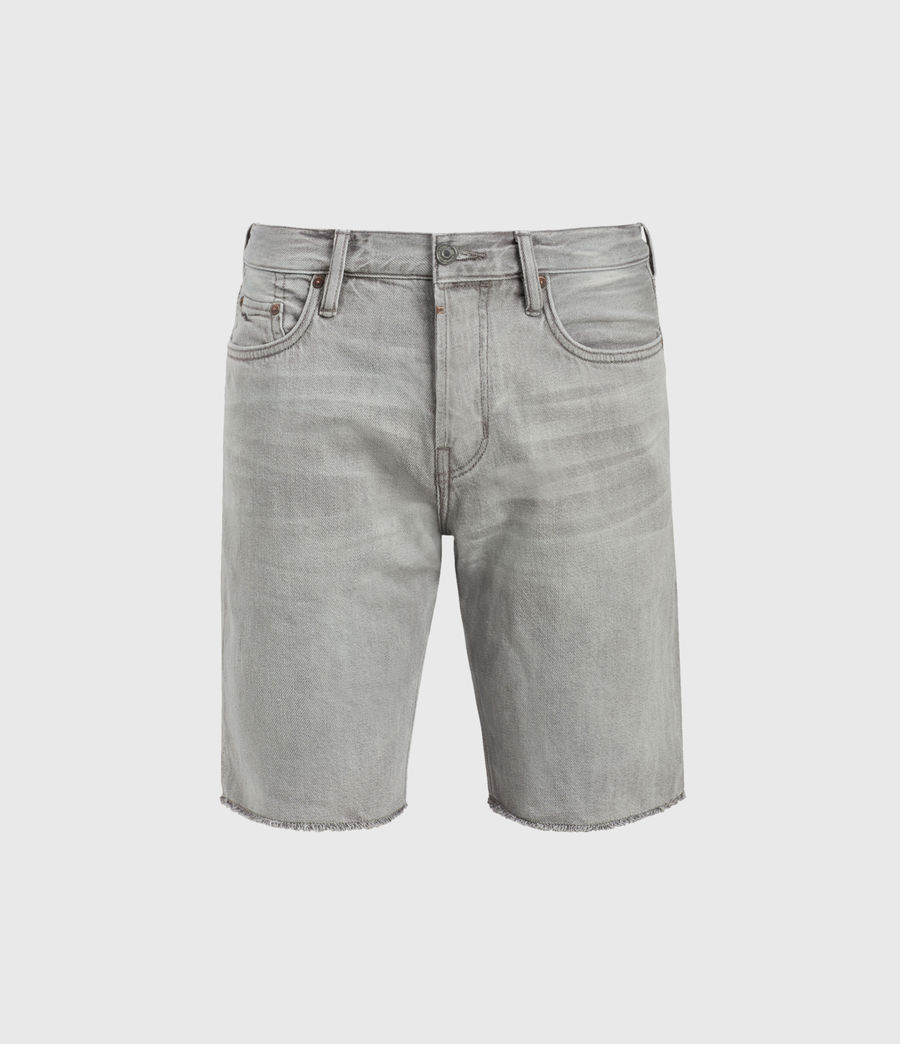 Hommes Short en Jean Usé Switch (grey) - Image 2