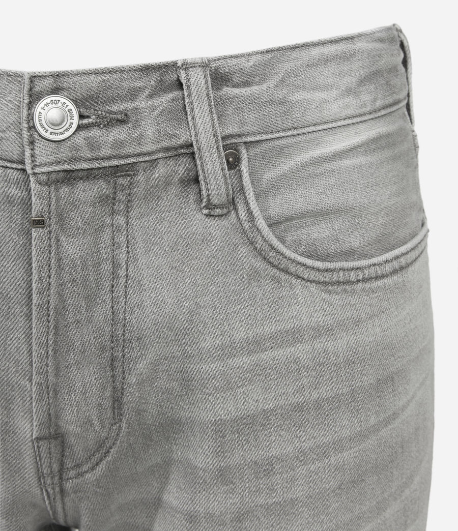 Hommes Short en Jean Usé Switch (grey) - Image 5