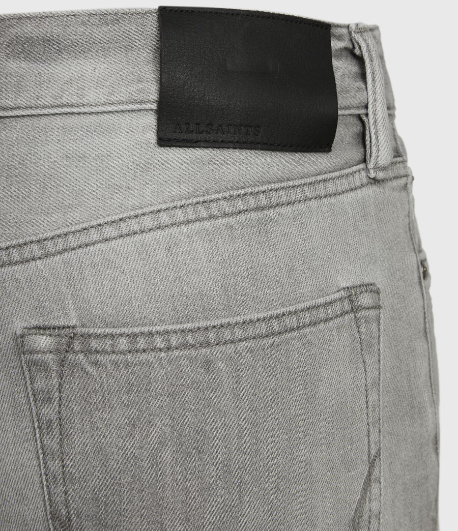 Hommes Short en Jean Usé Switch (grey) - Image 6