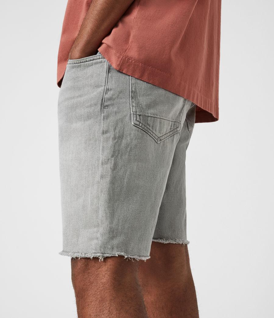 Hommes Short en Jean Usé Switch (grey) - Image 7