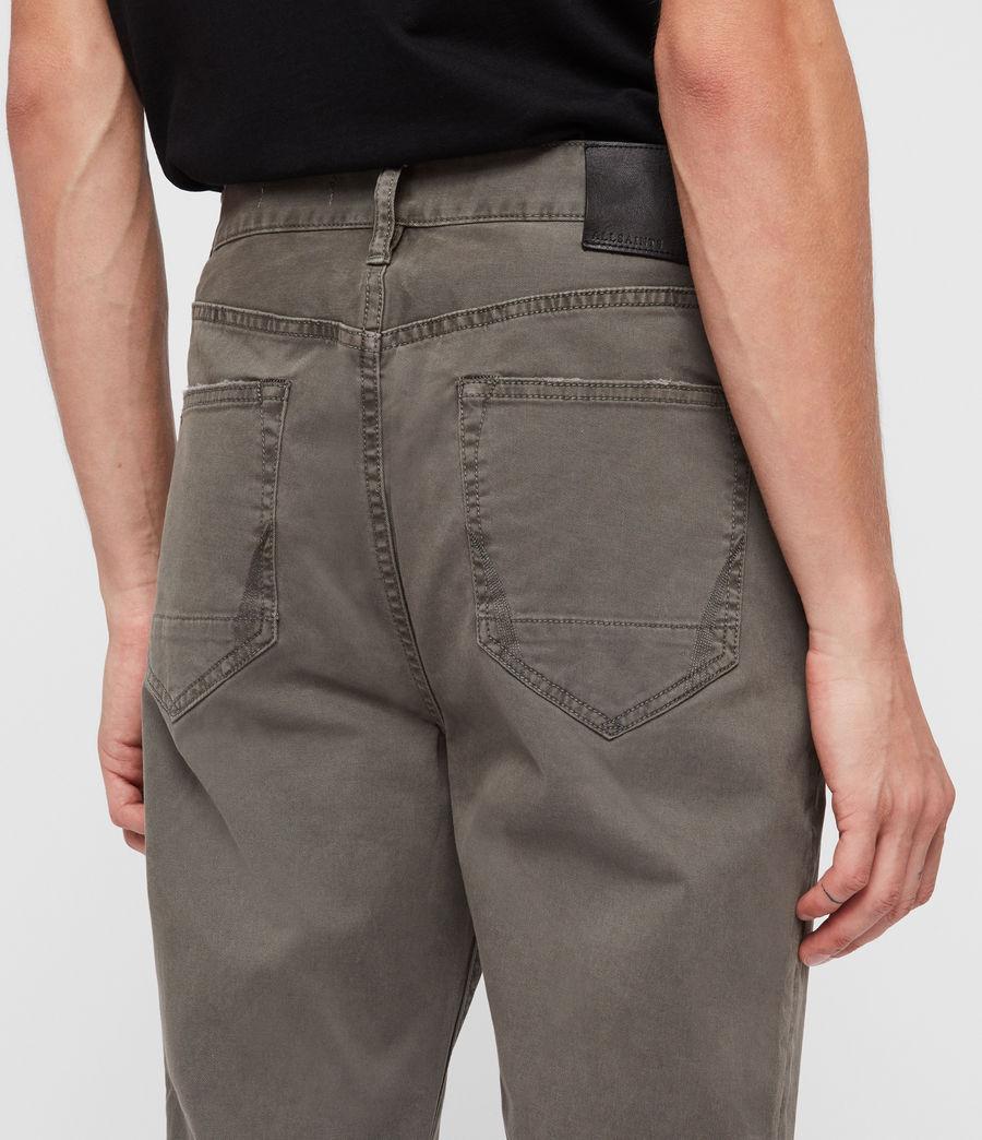 Men's Ridge Twill Tapered Jeans, Khaki (khaki) - Image 2