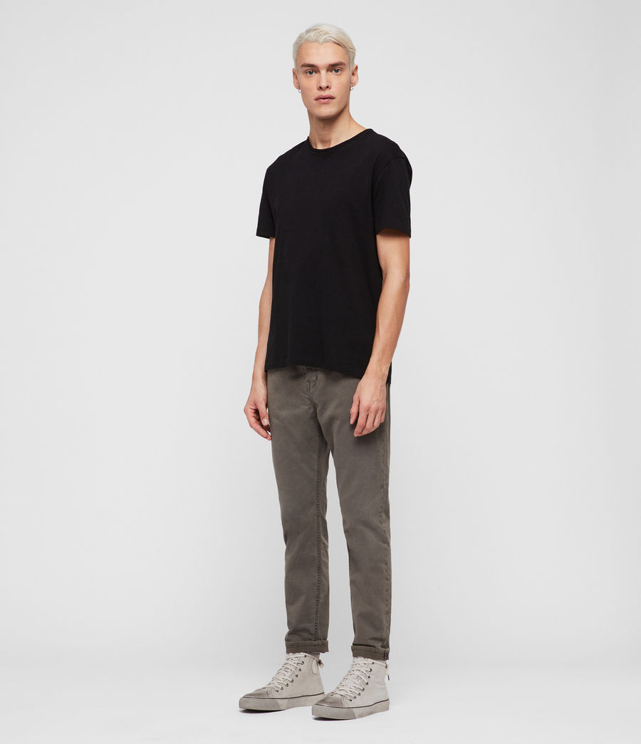 Men's Ridge Twill Tapered Jeans, Khaki (khaki) - Image 4