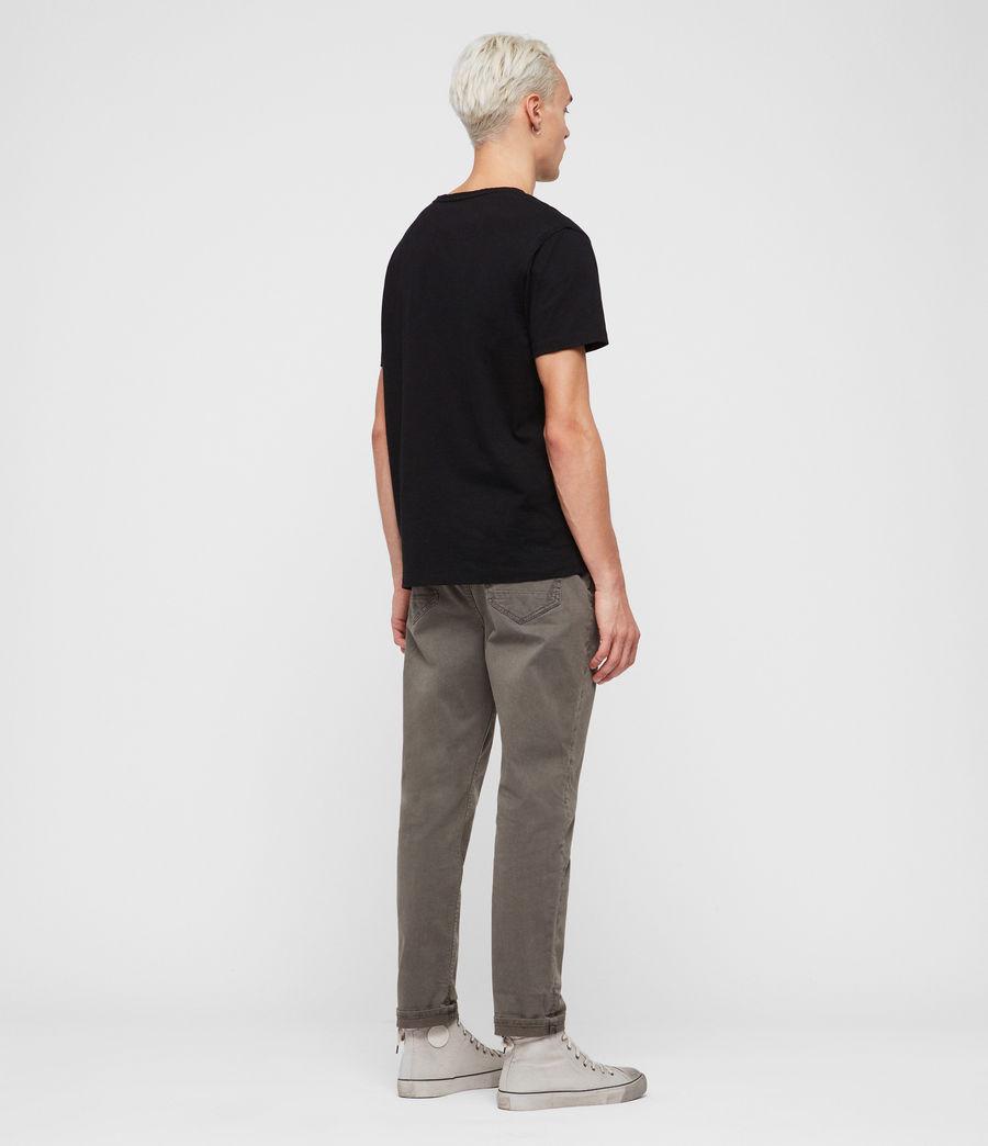 Men's Ridge Twill Tapered Jeans, Khaki (khaki) - Image 5
