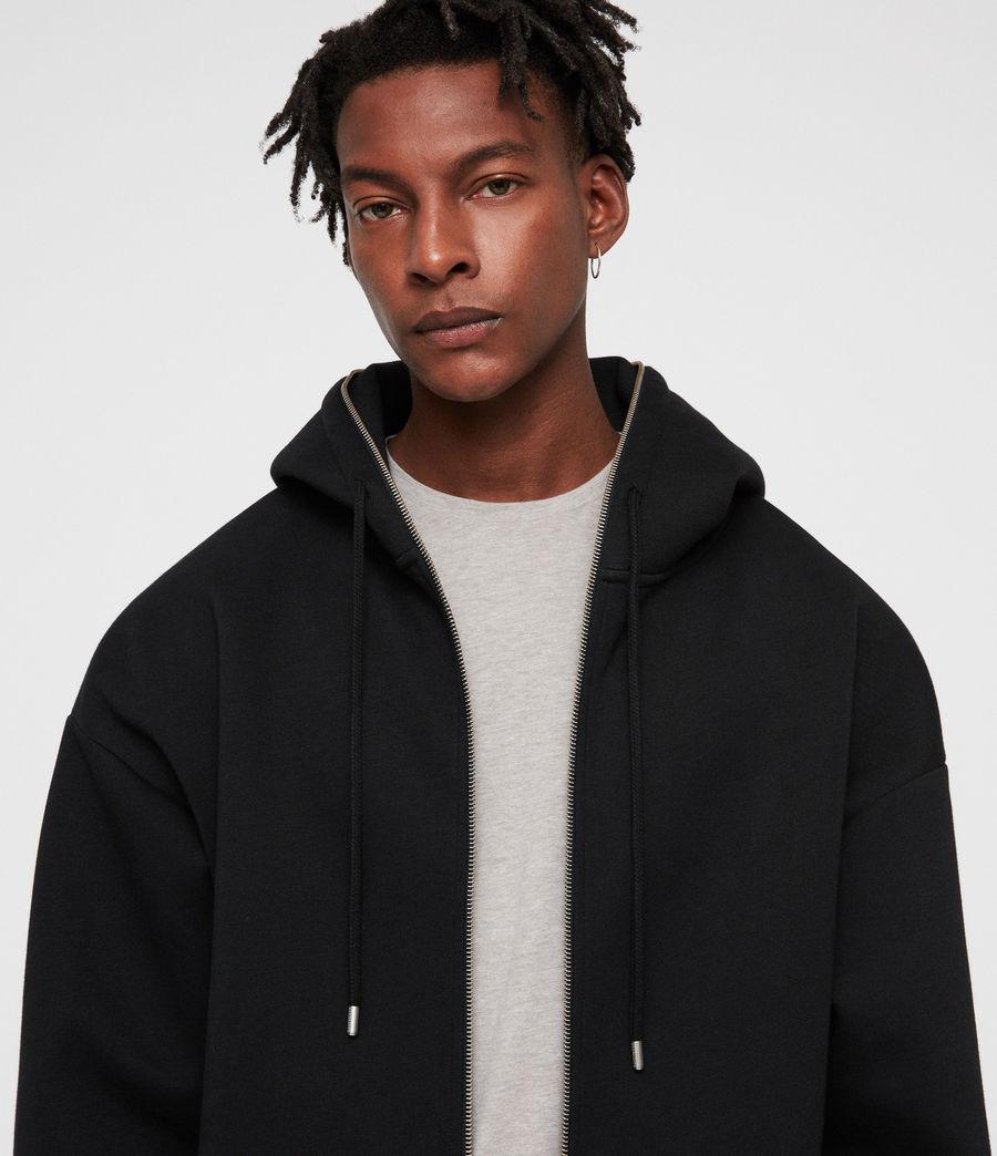 Men's Hibard Zip Hoodie (jet_black) - Image 2