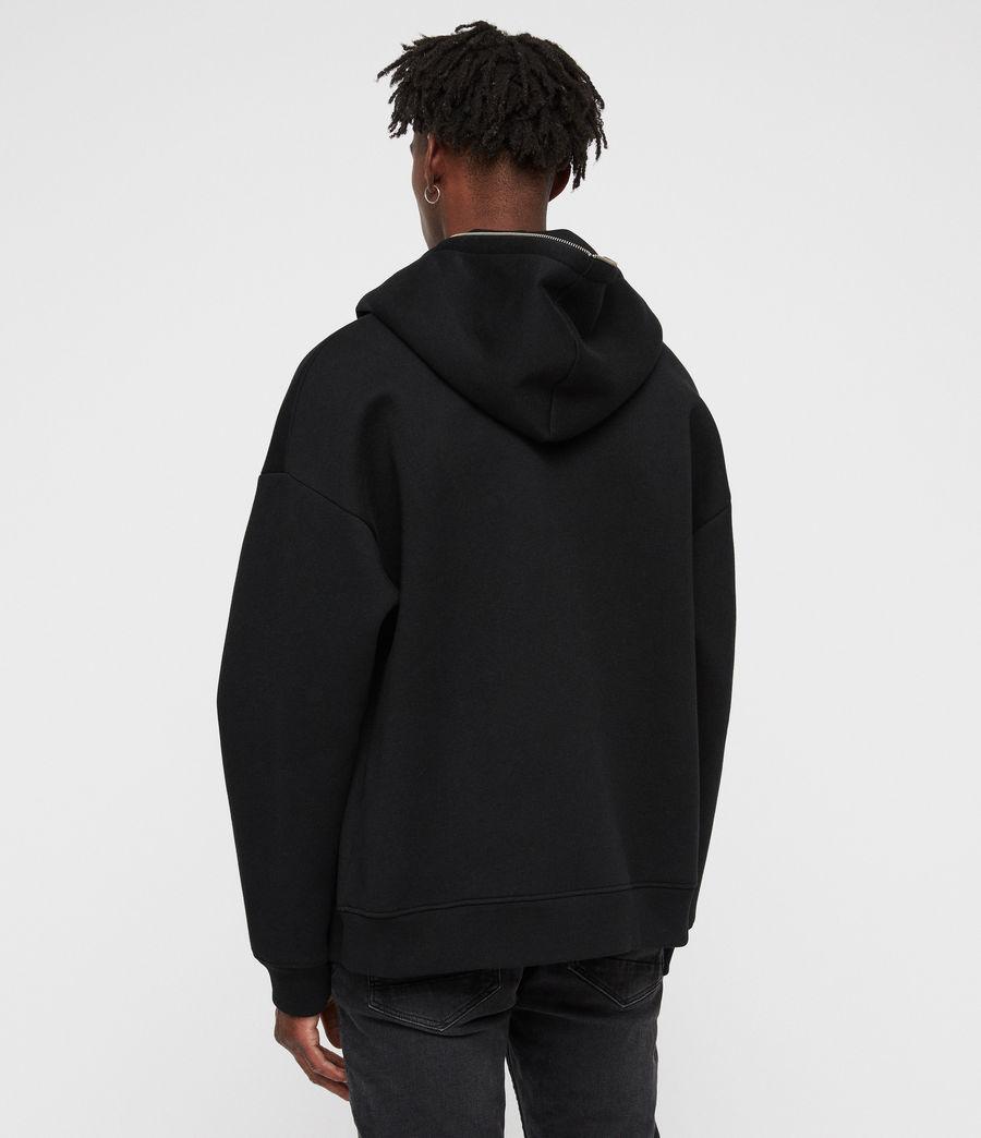 Men's Hibard Zip Hoodie (jet_black) - Image 5