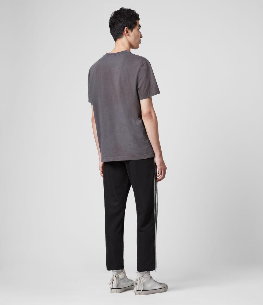 Men's Josh Cropped Slim Trackpants (jet_black) - Image 3