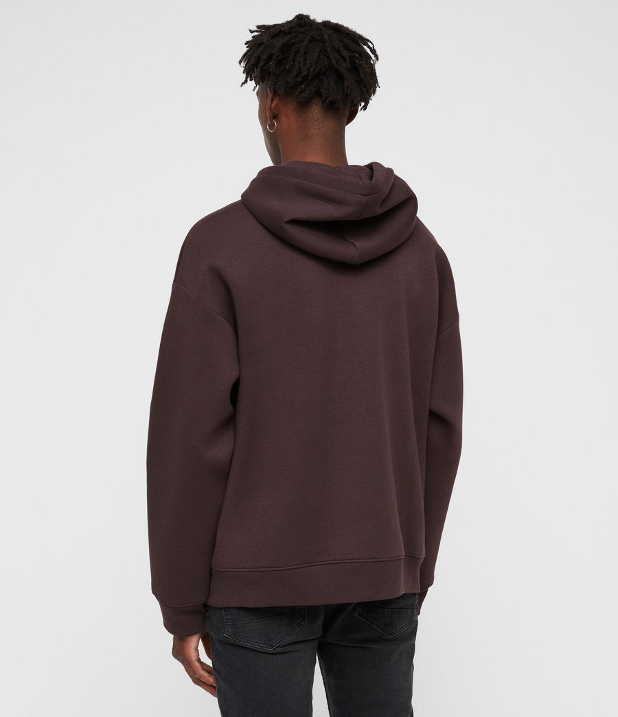 Men's Hibard Pullover Hoodie (oxblood_red) - Image 5
