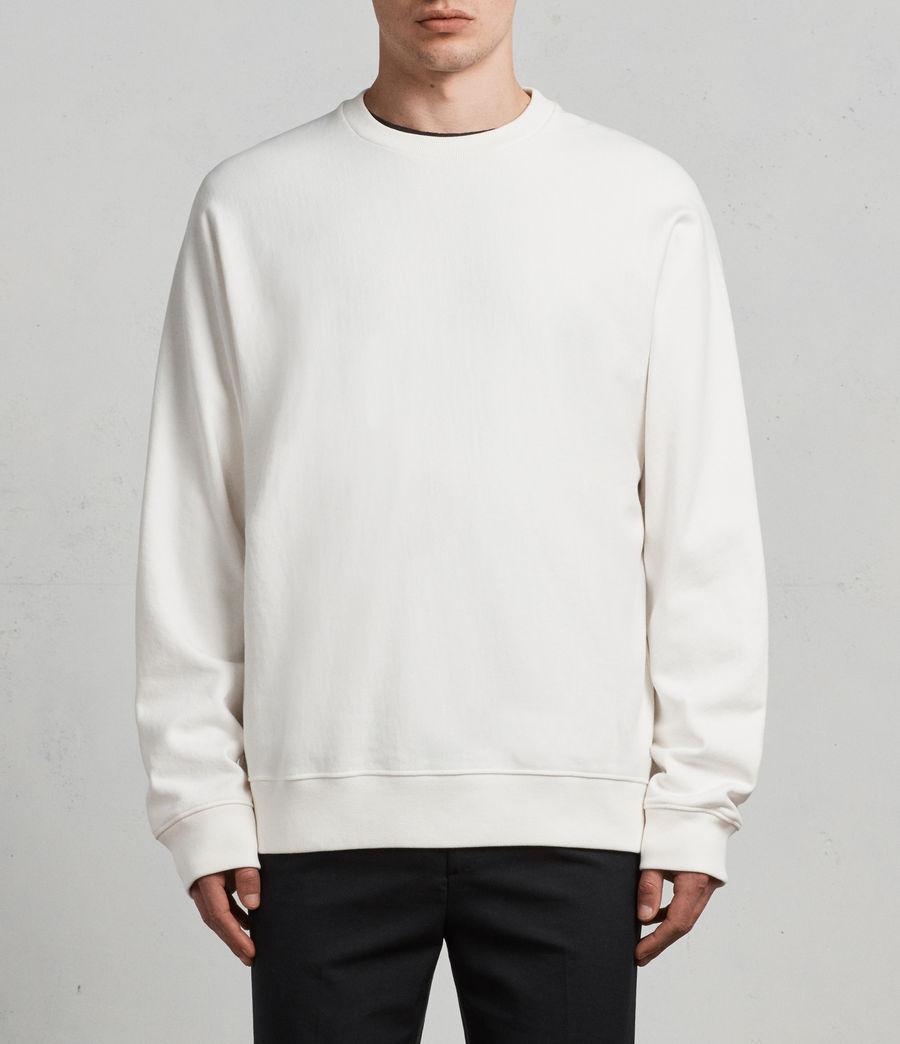 Mens Gethian Crew Sweatshirt (chalk_white) - Image 1