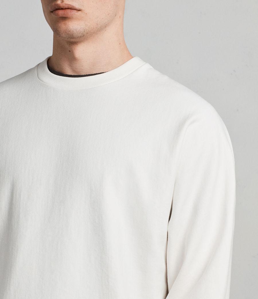 Mens Gethian Crew Sweatshirt (chalk_white) - Image 2