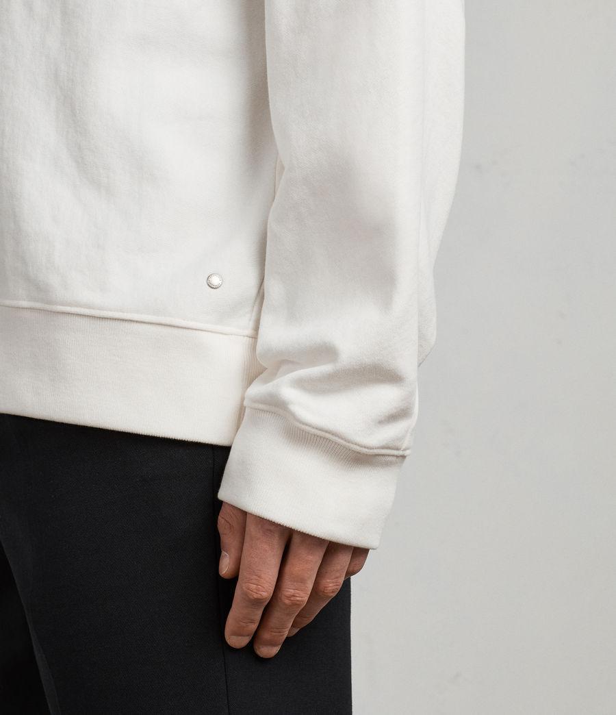 Mens Gethian Crew Sweatshirt (chalk_white) - Image 4