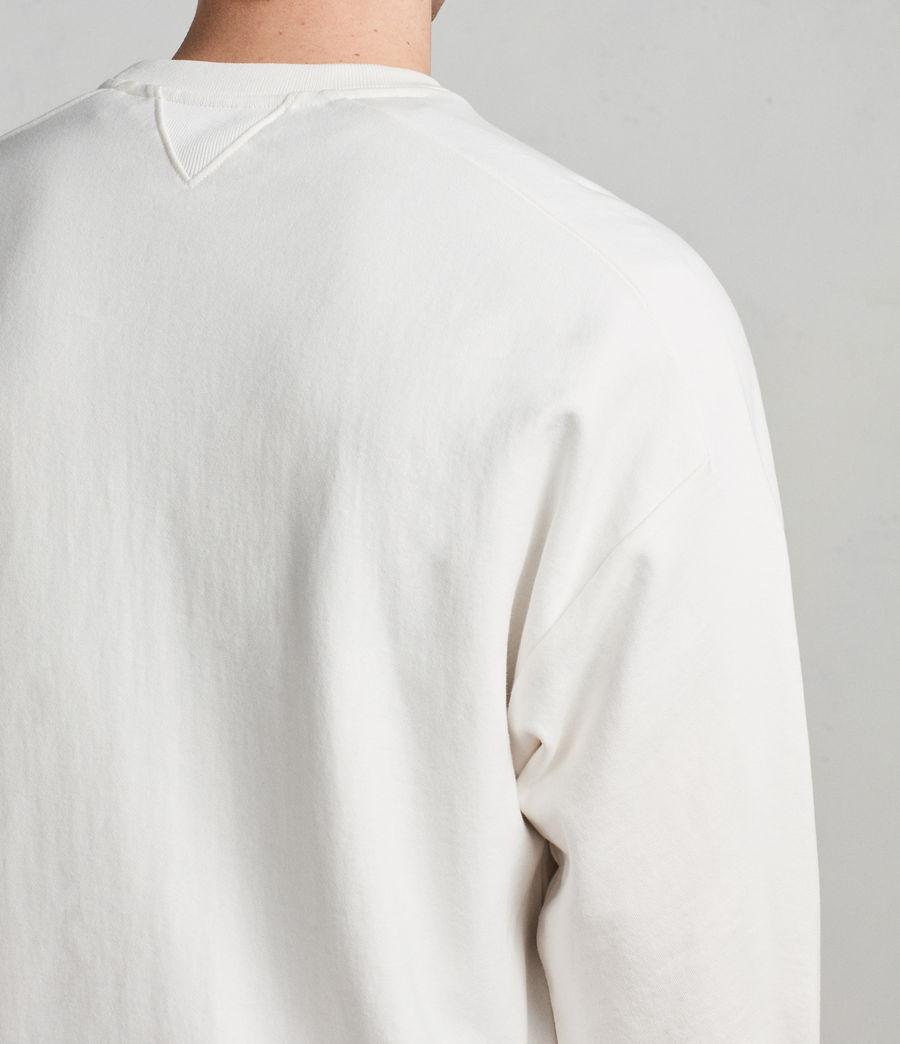 Mens Gethian Crew Sweatshirt (chalk_white) - Image 5