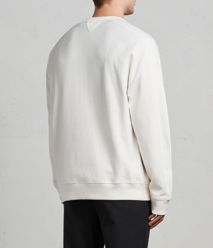 Mens Gethian Crew Sweatshirt (chalk_white) - Image 6