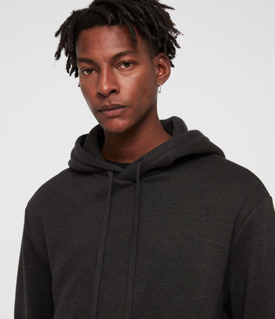 Hommes Cordum Pullover Hoodie (cinder_black) - Image 2
