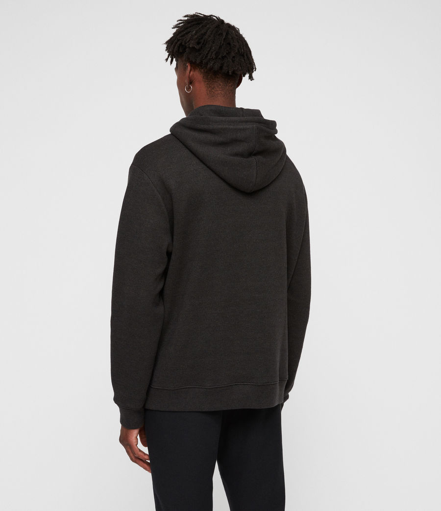 Hommes Cordum Pullover Hoodie (cinder_black) - Image 4