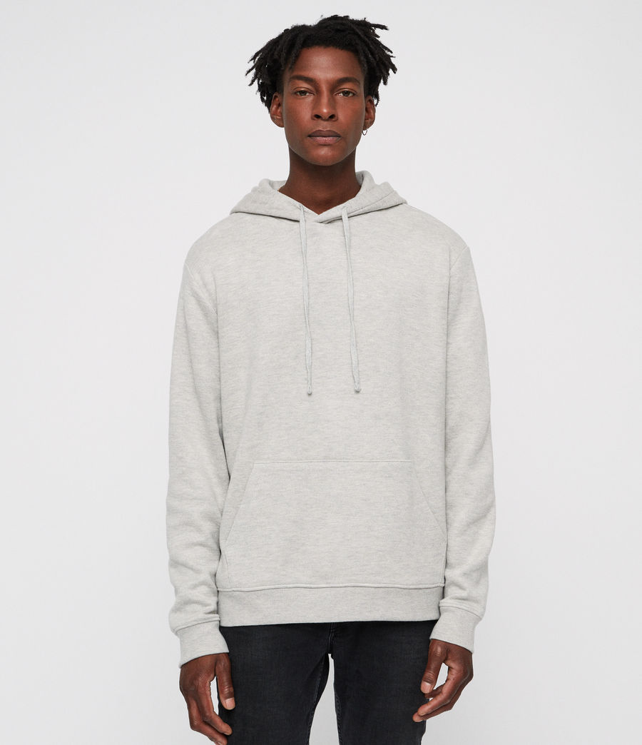 Mens Cordum Hoodie (light_grey_marl) - Image 1