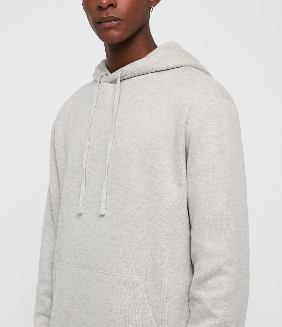 Mens Cordum Hoodie (light_grey_marl) - Image 2
