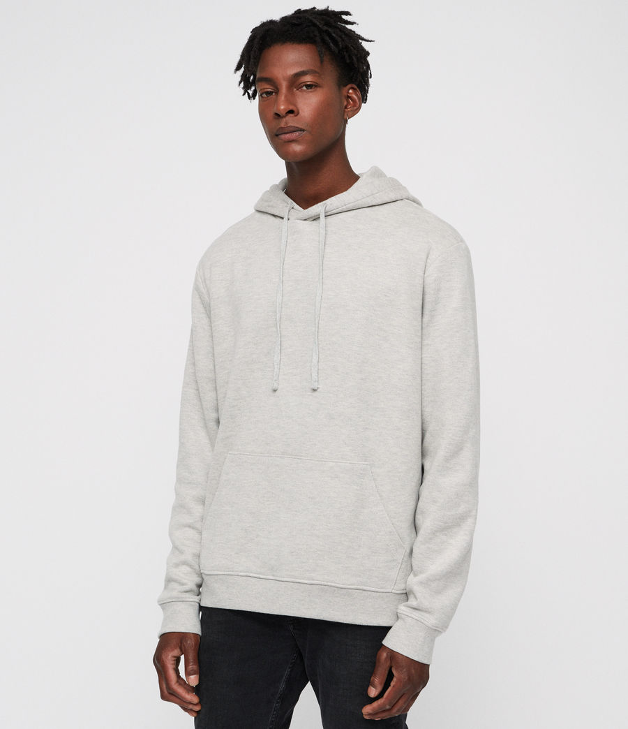 Mens Cordum Hoodie (light_grey_marl) - Image 3