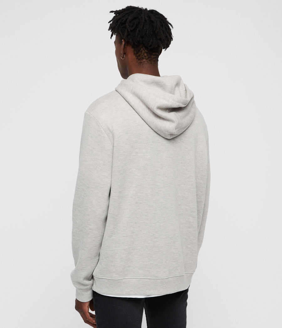 Mens Cordum Hoodie (light_grey_marl) - Image 4
