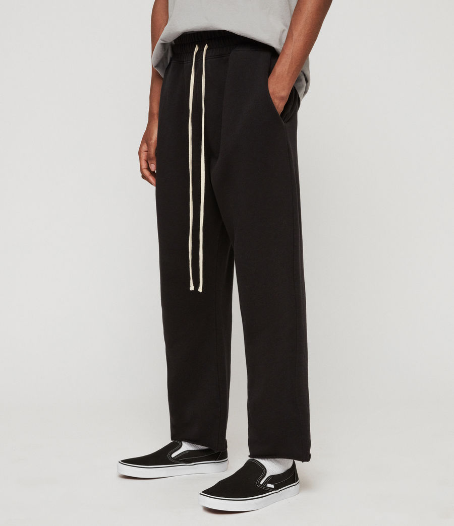 Mens Avio Sweatpants (jet_black) - Image 2