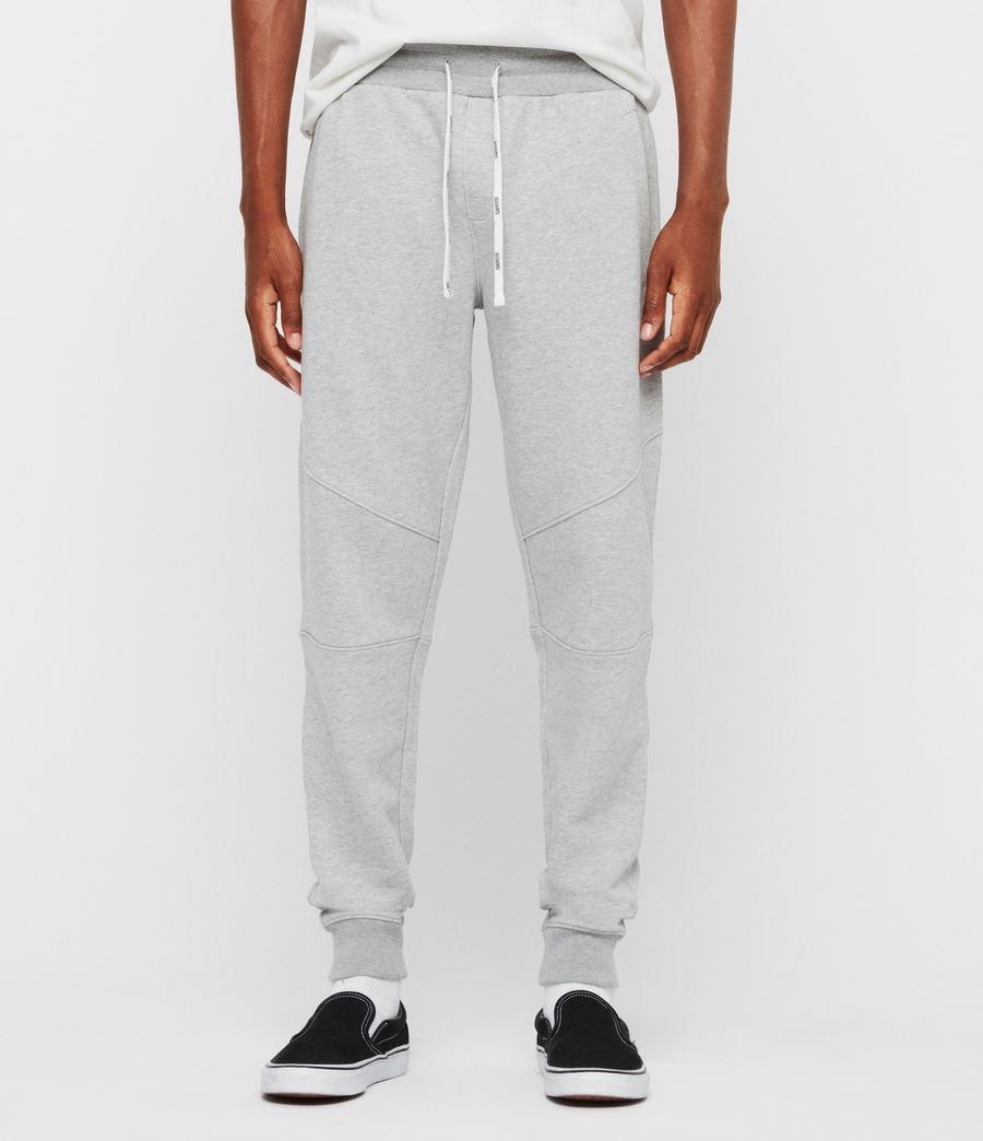 Mens Joshua Cuffed Sweatpants (grey_marl) - Image 1