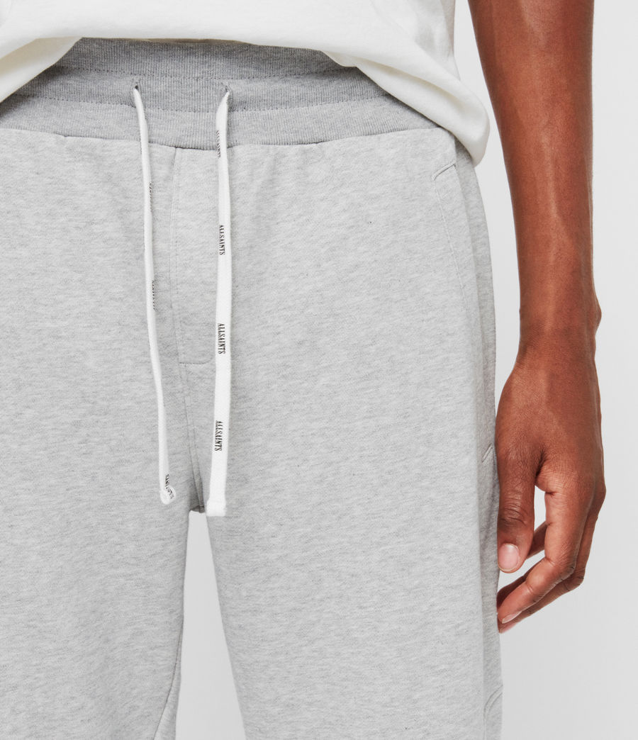 Mens Joshua Cuffed Sweatpants (grey_marl) - Image 2