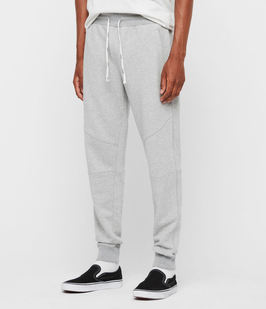 Mens Joshua Cuffed Sweatpants (grey_marl) - Image 4
