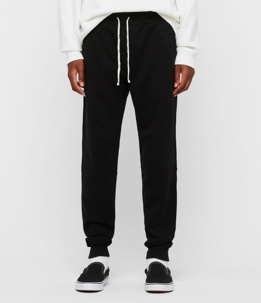 Men's Joshua Cuffed Sweatpants (jet_black) - Image 1