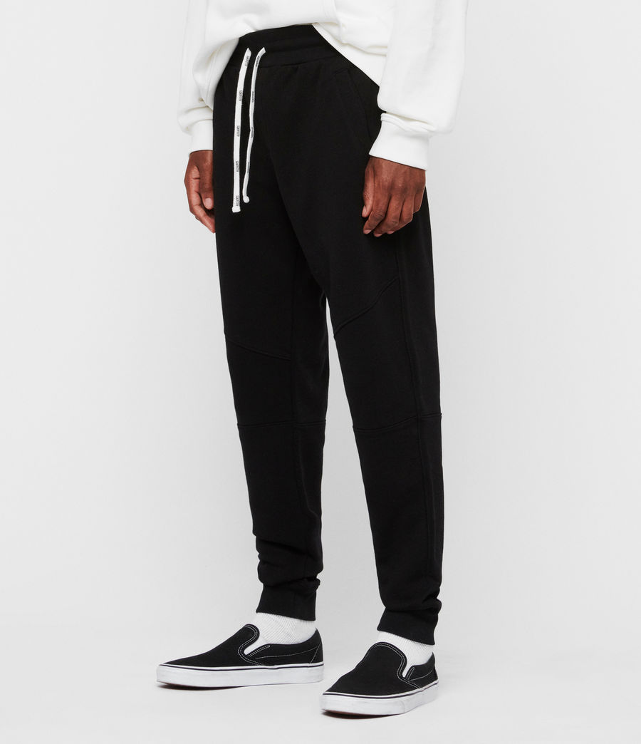 Men's Joshua Cuffed Sweatpants (jet_black) - Image 2