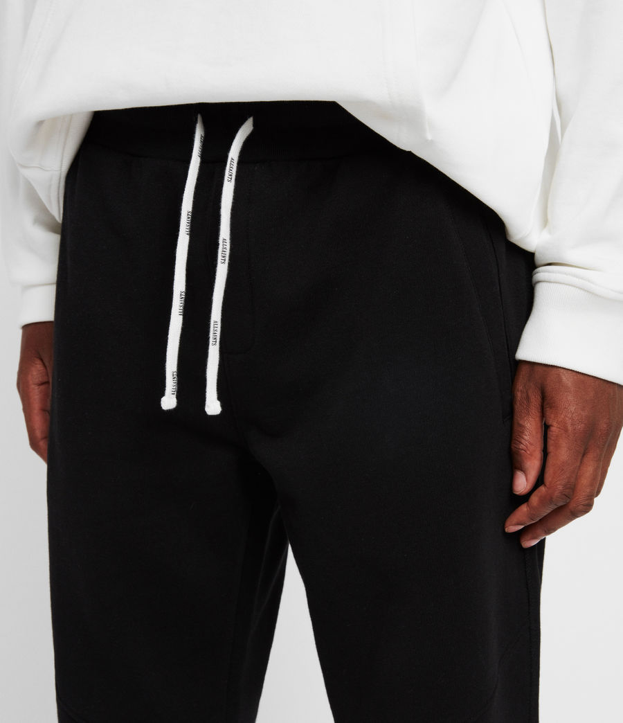 Men's Joshua Cuffed Sweatpants (jet_black) - Image 4