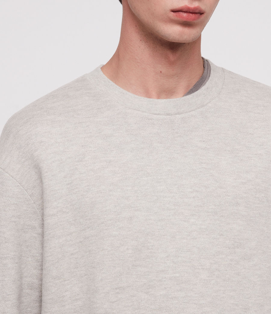 Hombre Cordum Crew Sweatshirt (grey_marl) - Image 2