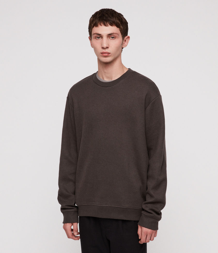 Hombre Cordum Crew Sweatshirt (khaki_brown) - Image 1