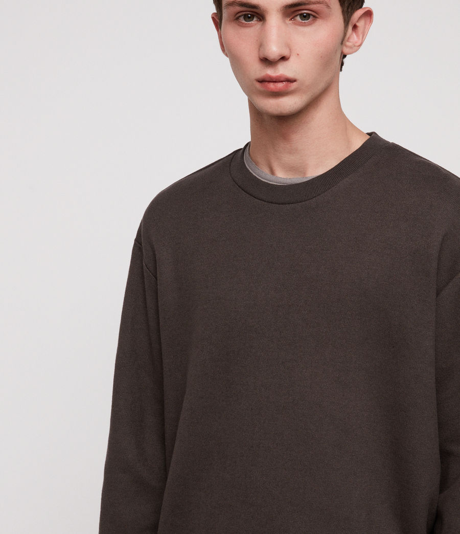 Hombre Cordum Crew Sweatshirt (khaki_brown) - Image 2