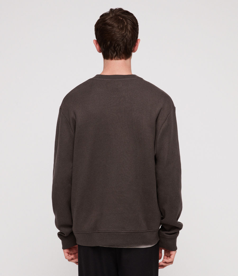 Men's Cordum Crew Sweatshirt (khaki_brown) - Image 4