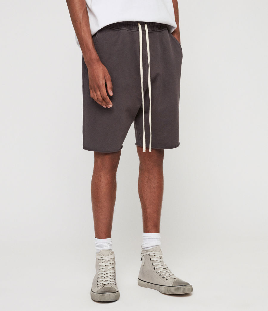 Men's Avio Sweat Shorts (iron_grey) - Image 4