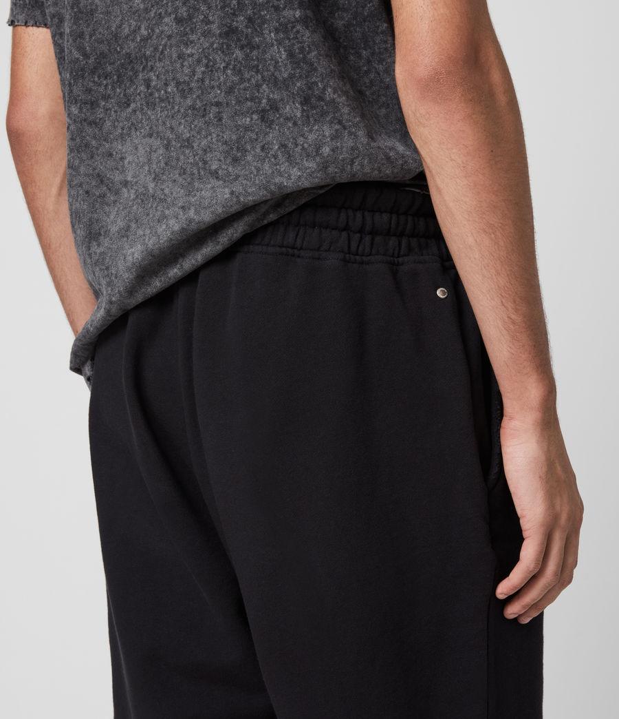Men's Avio Sweat Shorts (jet_black) - Image 5