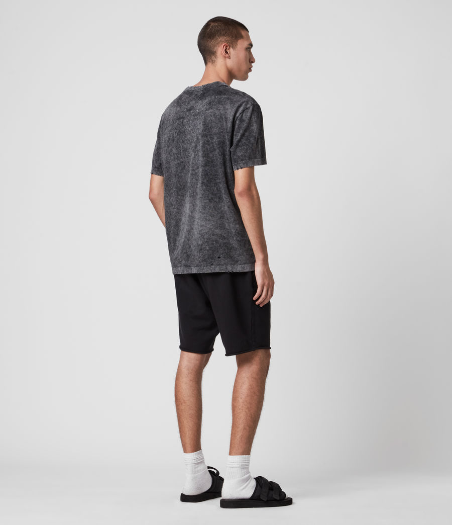 Men's Avio Sweat Shorts (jet_black) - Image 6