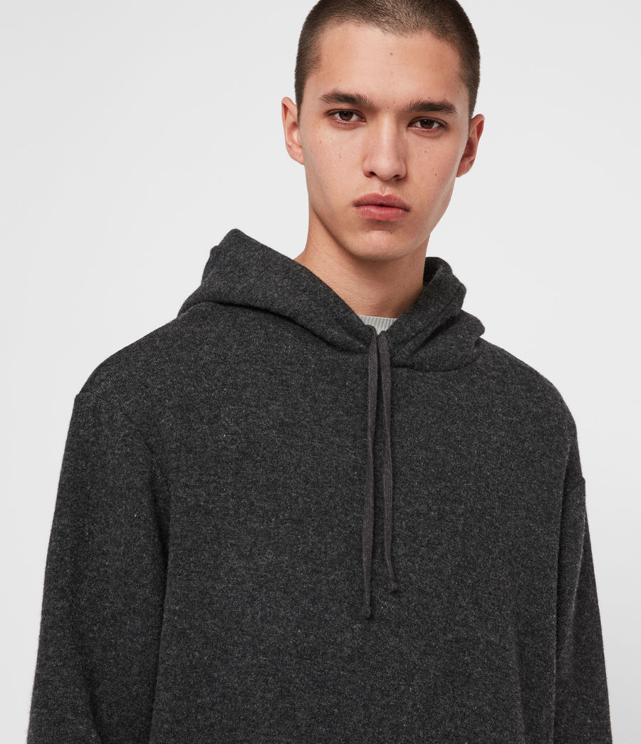 Men's Jethro Pullover Hoodie (charcoal_marl) - Image 2