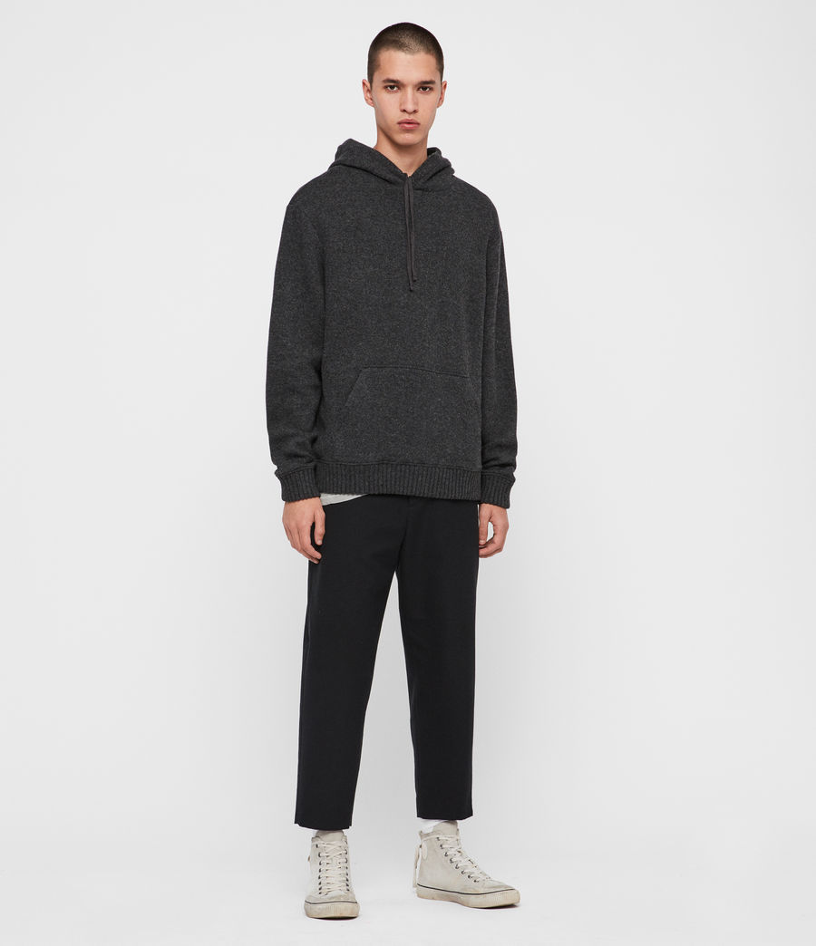 Men's Jethro Pullover Hoodie (charcoal_marl) - Image 3